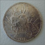 1 Peso MEXICO 1913 ( CABALLITO )  Image