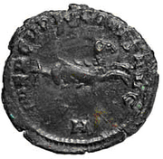 Glosario de monedas romanas. CRIOCAMPO. Image
