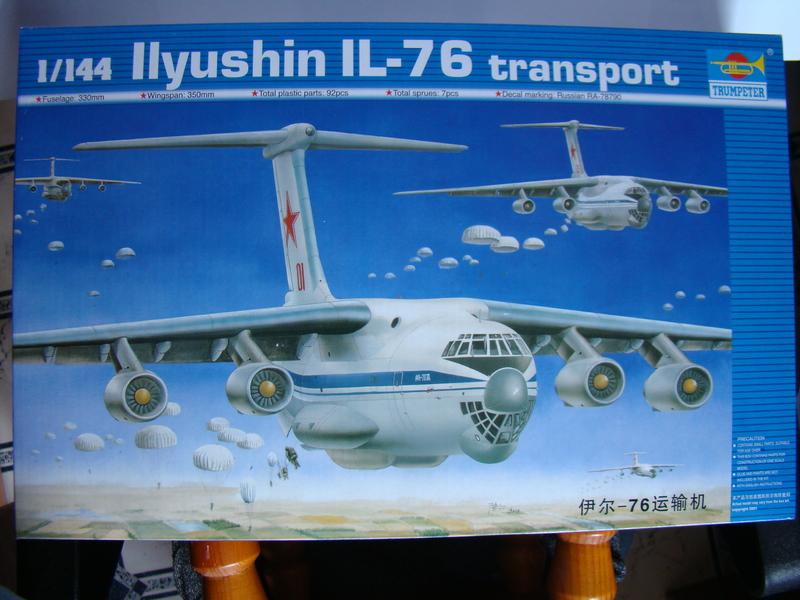 Ил-76 МД   TRUMPETER  М1:144 DSC07189