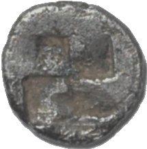 Tracia, Chersonesos . Hemiobolo (raro). 500 a.C. 240b