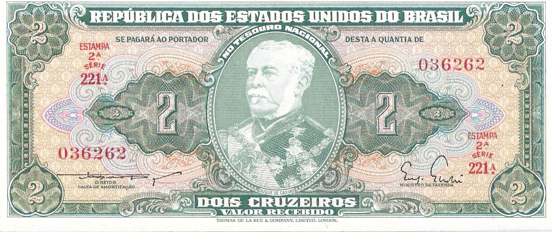 2 Cruzeiros Brasil, 1955 Escanear0005
