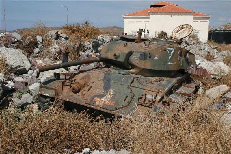 M-24 Chaffee, Ελληνικός Στρατός P3_G0366_Medium