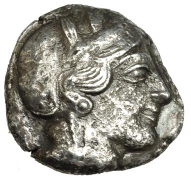 Tetradracma ático. Atenas. 449-413 A.C. 3063a