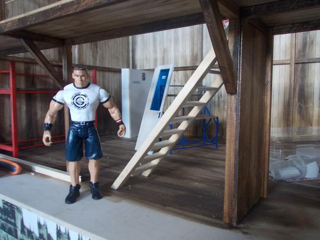 "Diorama: taller mecánico ""de toda la vida"" escala 1/10 DSCN4782"
