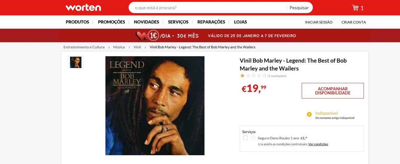 LEVE 3 PAGUE 2 - Worten Bobmarley_vinyl