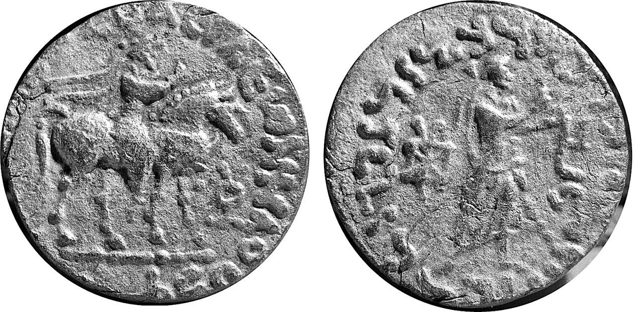Tetradracma de Gondofares I. Gandhara Gon1