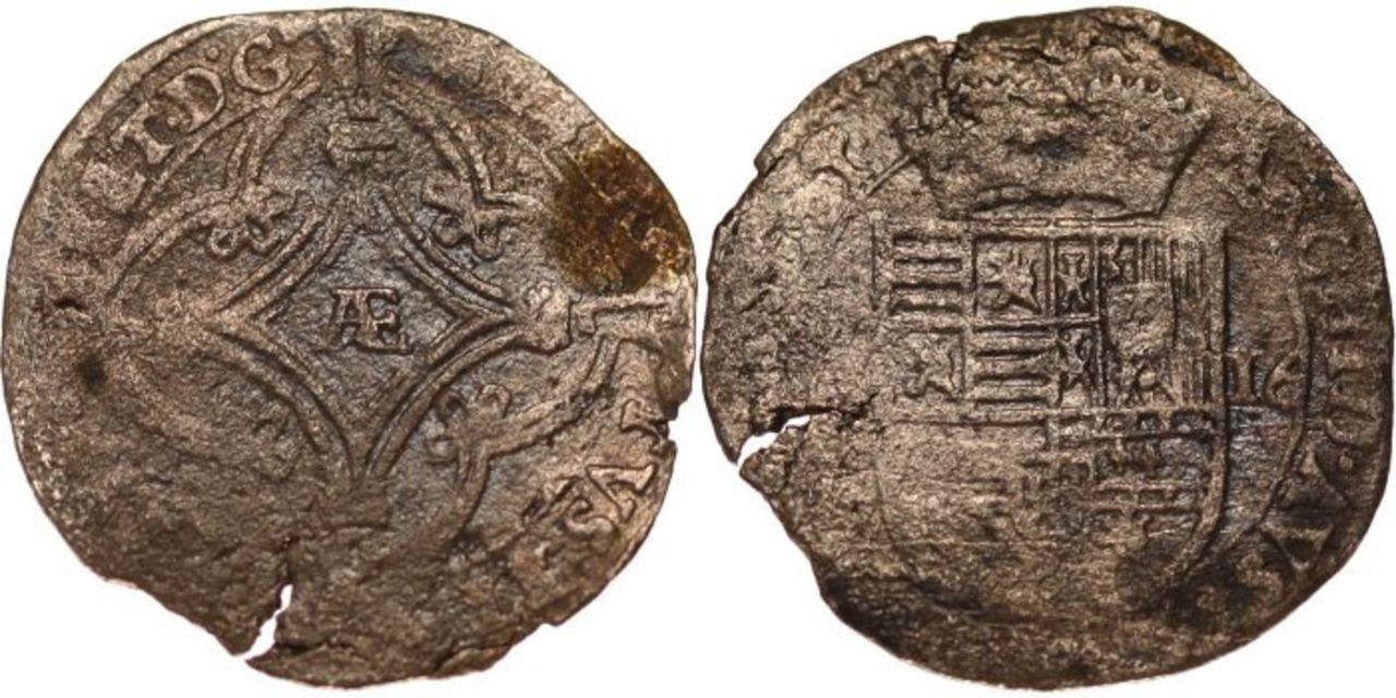 Doble patard de Carlos II. Tournai. 445334