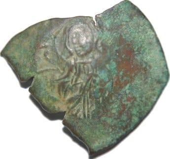 Trachy del imperio latino de Constantinopla 209a