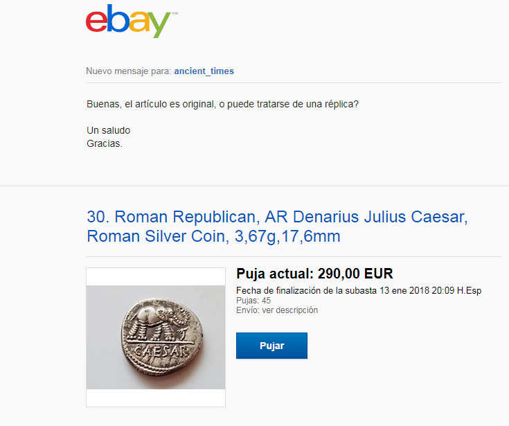 Vendedor de ebay  ancient_times Foro