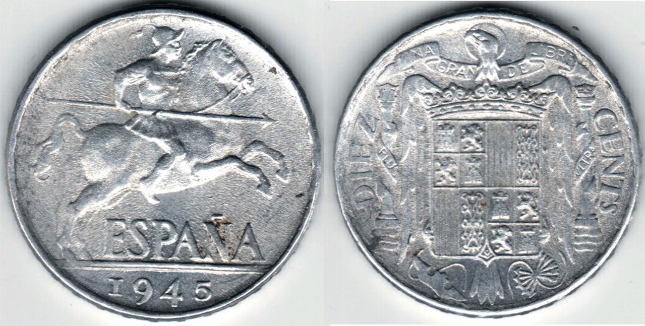 10 céntimos 1945- Estado Español- Comparación 10_cts_1945_1mbc