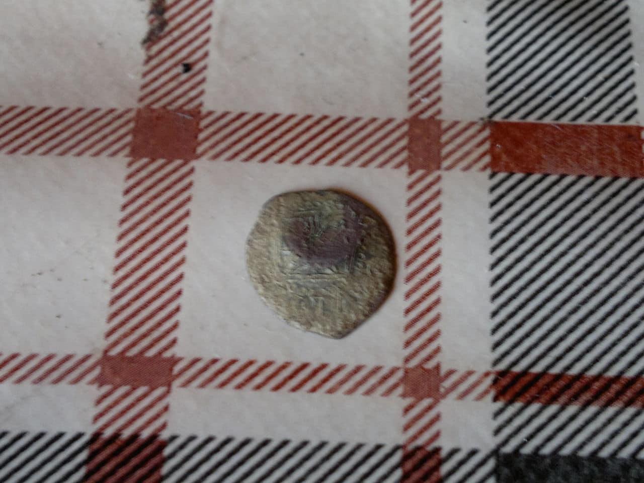 Dinero de Vic. Felipe II. (Resello león). 2013_08_04_2585