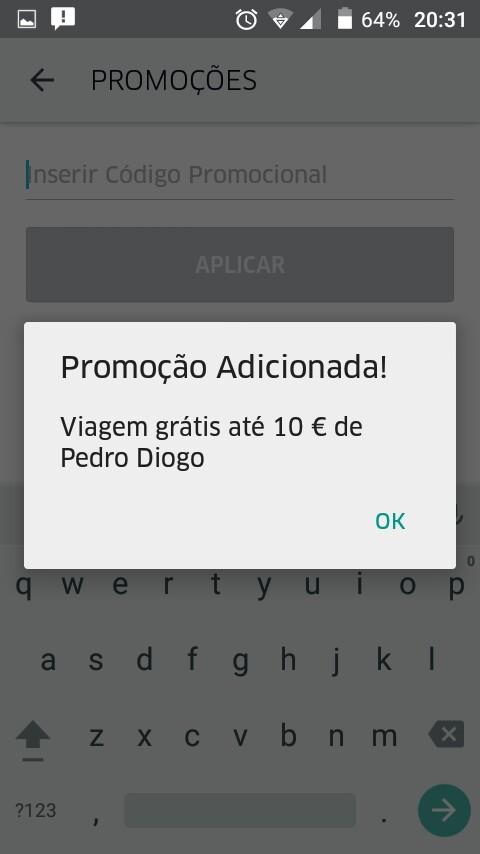 [Provado] Uber - Tem um Motorista (taxi) de Borla - Aproveita 5 Euros Grátis  - Página 2 946128_1031179236905425_105500952465656453_n