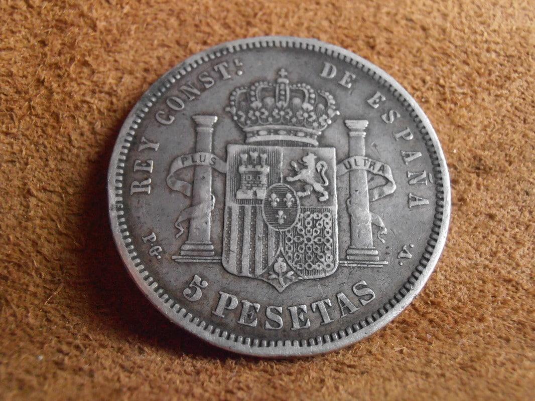 5 Pesetas 1893. Alfonso XIII. PGV P2258604_1