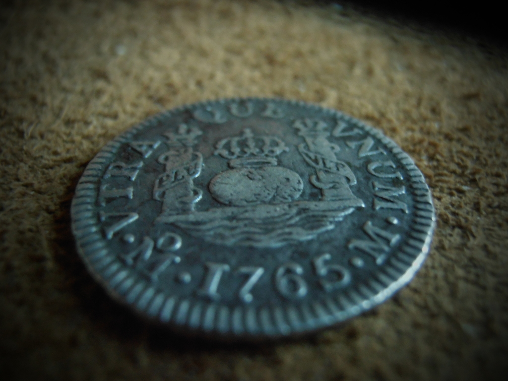 1 Real columnario Carlos III,ceca Mexico 1765 P9190013
