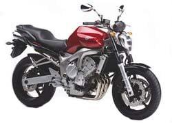 Orígen, historia y evolución | Yamaha FZ6 - Fazer 2005_FZ6_N_Rojo