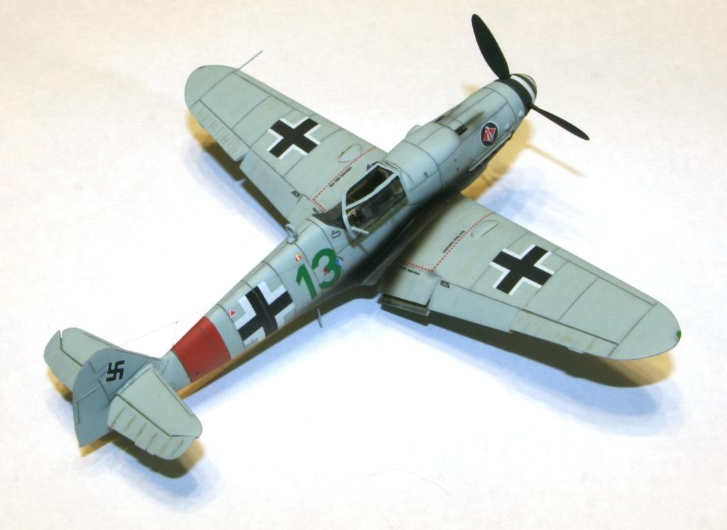 "Bf-109 g-6AS W.Oesau ""Az model"" 1/72 IMG_3392"