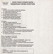 Nedeljko Nedjo Kostic -Diskografija Cass_z