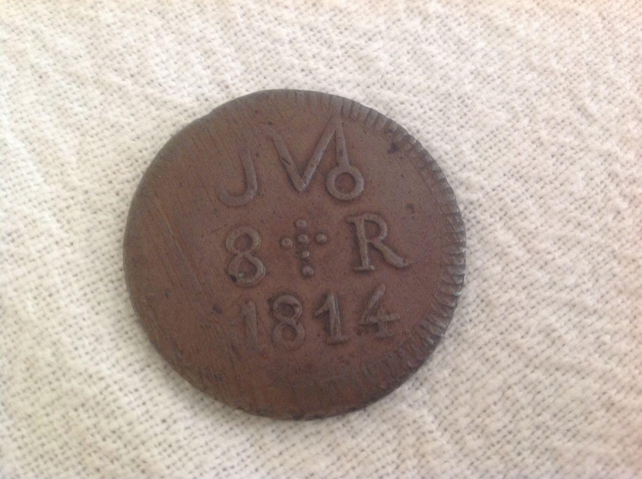 8 reales SUD 1814 José María Morelos. Mejico Image