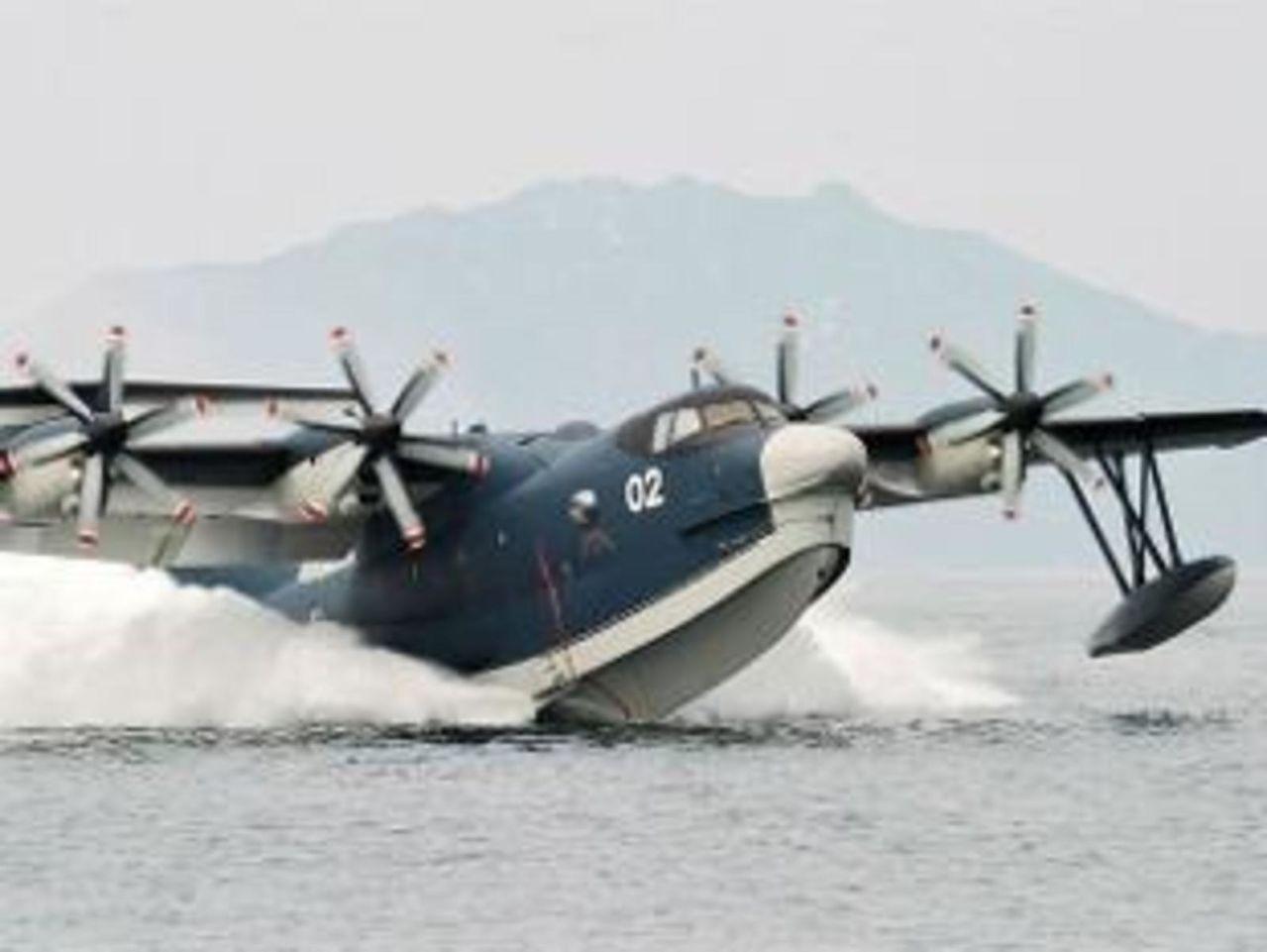 Hidroavion ShinMaywa US-2 de origen Japones, es ofrecido a ensamblarse en India - acuerdos, contratos y noticias HIDROPLANE_A_2_JAPAN_IN_INDIA
