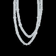 Leandra's Weekly Design Challenge: #7 Silver & Gold Sslayerednecklacebbates