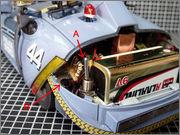 FUJIMI Police Spinner + Custom Set (Blade Runner) 25_FSpinner_LED