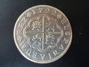 2 reales de Felipe V - Segovia: VARIANTES DSCN1244