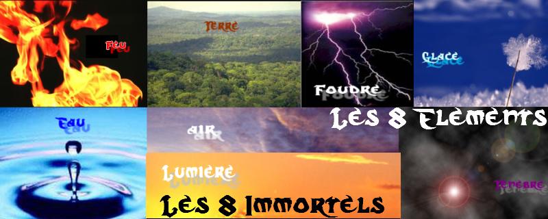 Les huits Immortels