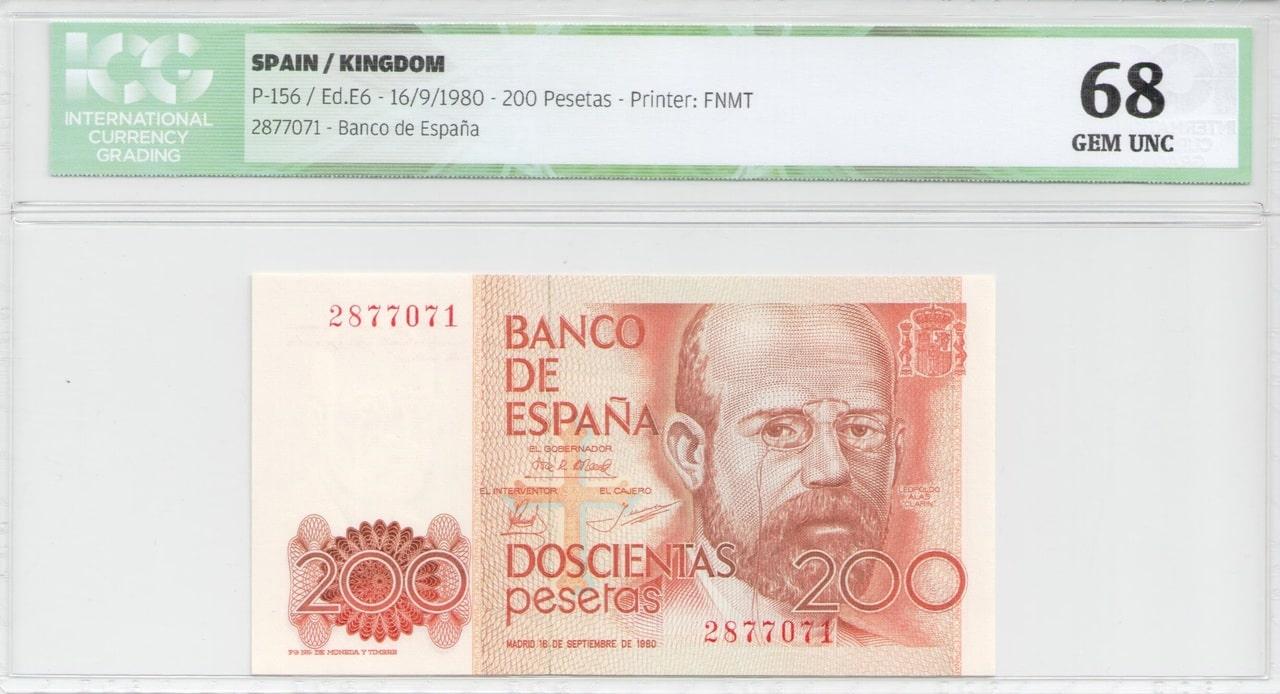 Colección de billetes españoles, sin serie o serie A de Sefcor Clar_n_anverso