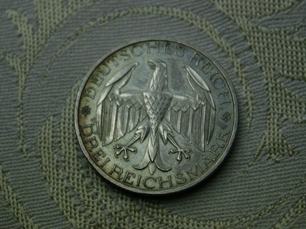 Monedas Conmemorativas de la Republica de Weimar y la Rep. Federal de Alemania 1919-1957 - Página 3 1929b