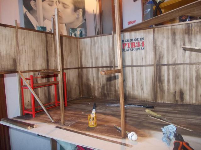 "Diorama: taller mecánico ""de toda la vida"" escala 1/10 DSCN4734"