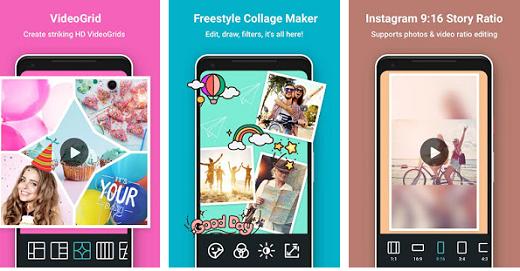 PhotoGrid: Video & Pic Collage Maker, Photo Editor v6.76 build 67600004 Premium Untitled