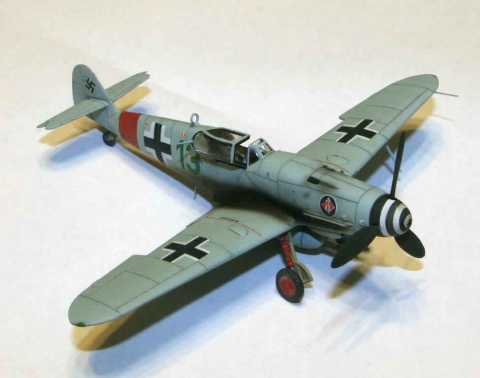 "Bf-109 g-6AS W.Oesau ""Az model"" 1/72 IMG_3394"