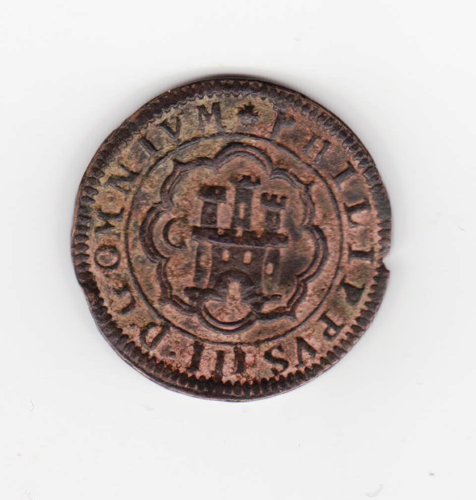 4 maravedís 1602. Felipe III. Segovia 8_maravedis_1602