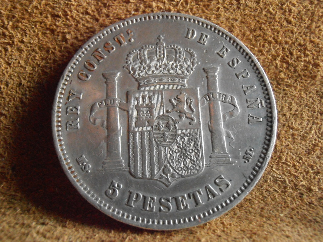 5 Pesetas 1885. (*18-85). Alfonso XII P3310009
