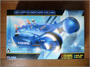 FUJIMI Police Spinner + Custom Set (Blade Runner) 01_FSpinner_bx