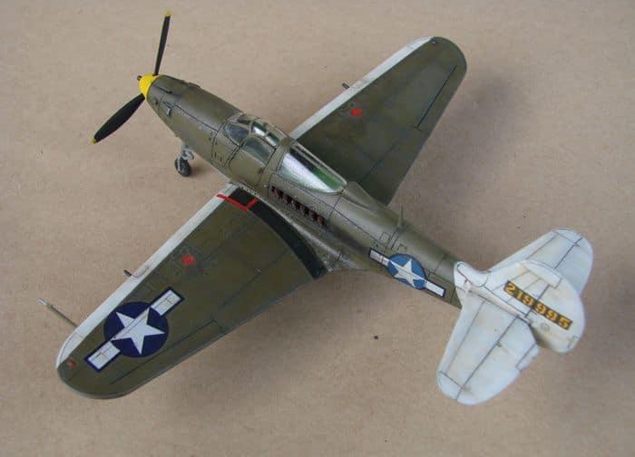 P-39Q Airacobra, 1/72, Academy (rebuild) DSC02944