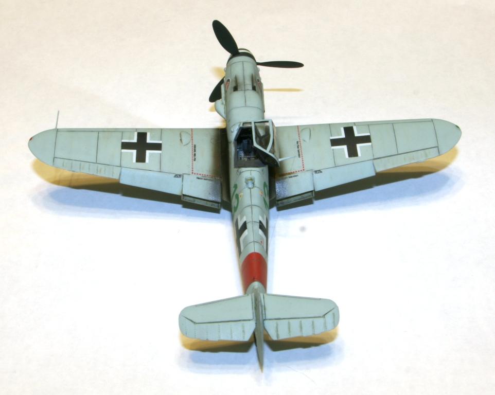 "Bf-109 g-6AS W.Oesau ""Az model"" 1/72 IMG_3391"