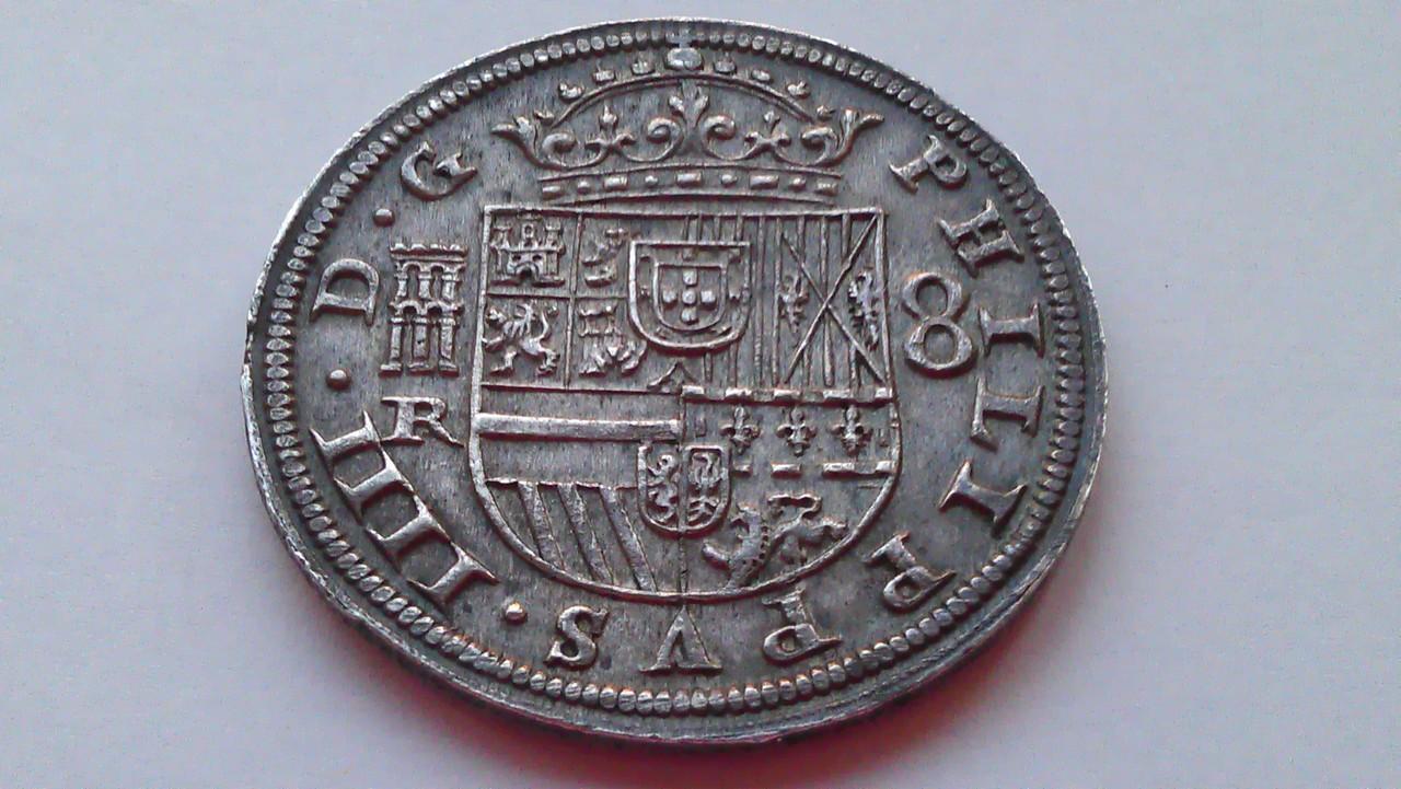 8 reales 1633. Felipe IV. Real Ingenio de Segovia. IMAG1230