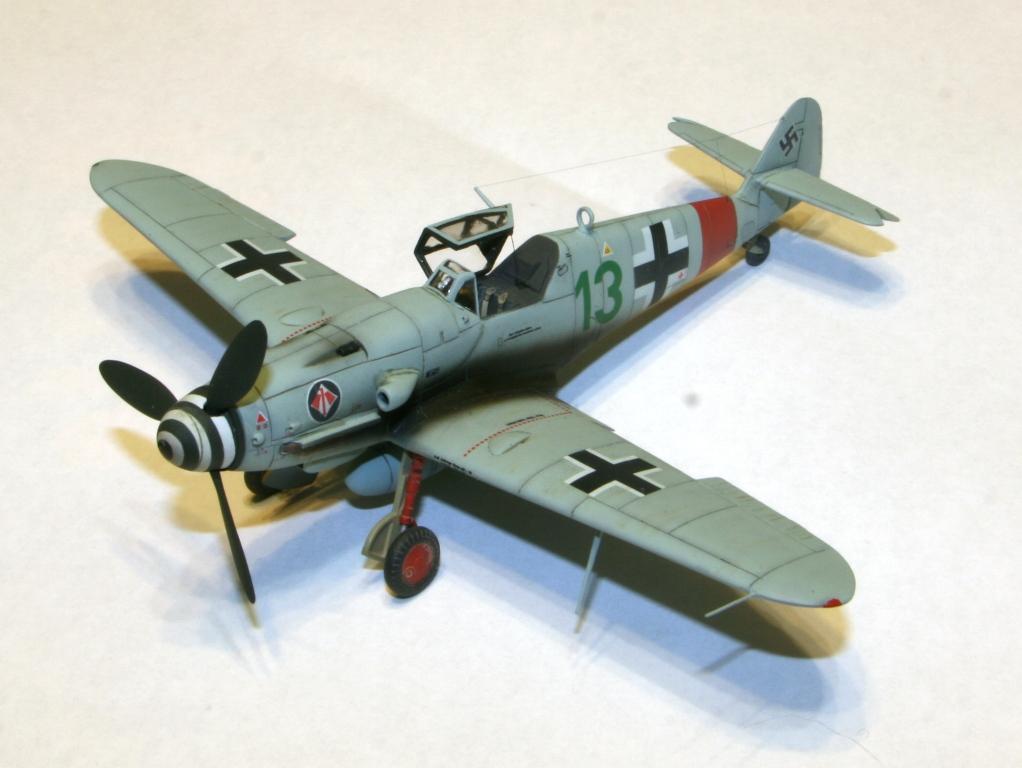 "Bf-109 g-6AS W.Oesau ""Az model"" 1/72 IMG_3388"