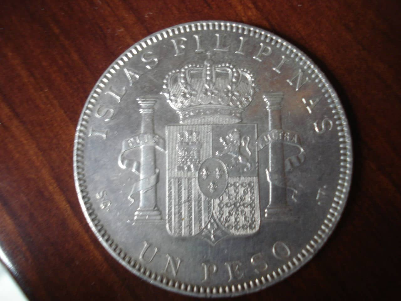 1 Peso 1897 Alfonso XIII  Manila. DSC02537