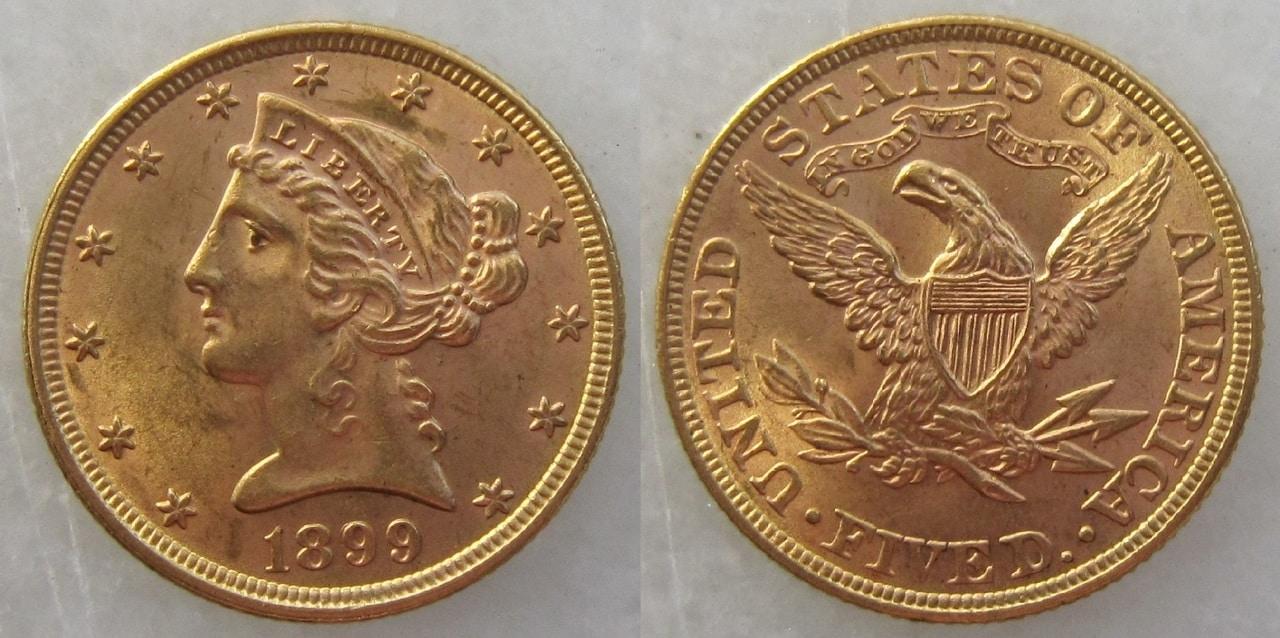 moneda extranjera 5_d_lares_EEUU_1899