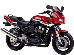 Orígen, historia y evolución | Yamaha FZ6 - Fazer 2000_Rojo