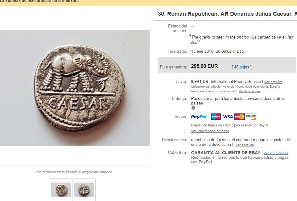 Vendedor de ebay  ancient_times Fack