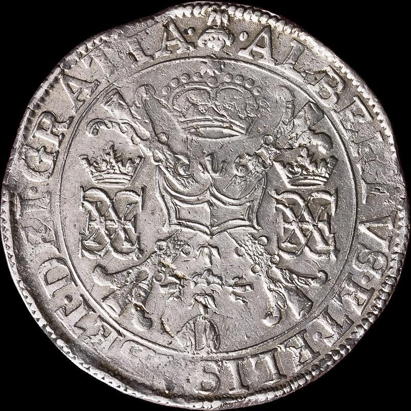 Patagón s.d. (1612 - 1621). Alberto e Isabel. Bruselas 1501_H0863