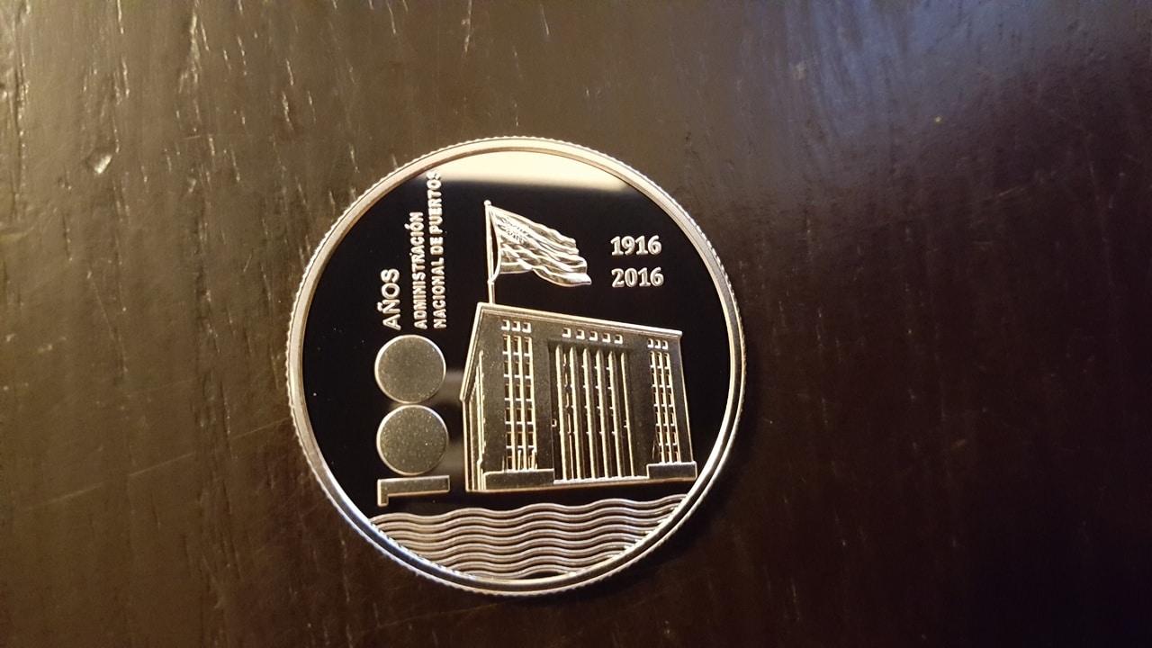 Monedas conmemorativas de Uruguay acuñadas en plata 1961 - Presente. - Página 2 20170213_165159