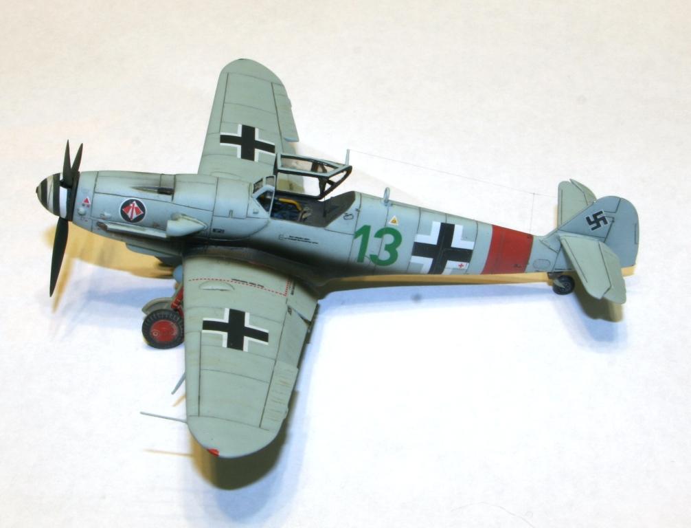 "Bf-109 g-6AS W.Oesau ""Az model"" 1/72 IMG_3389"
