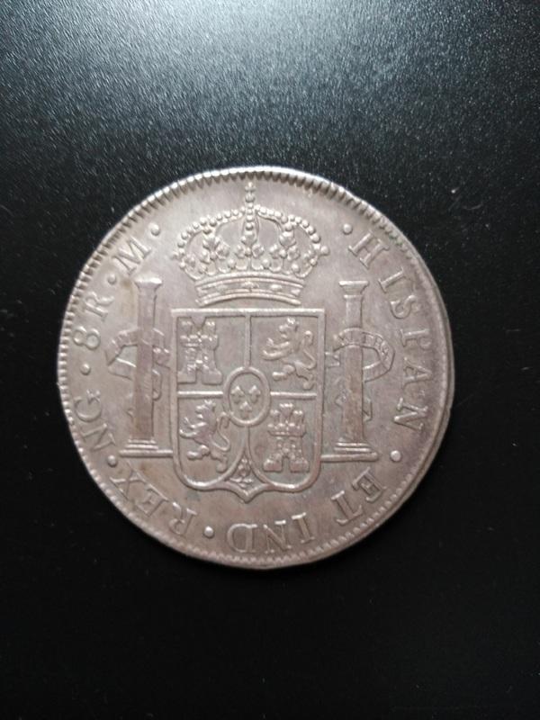 8 reales 1804. Carlos IV. Guatemala IMG_20170624_200538