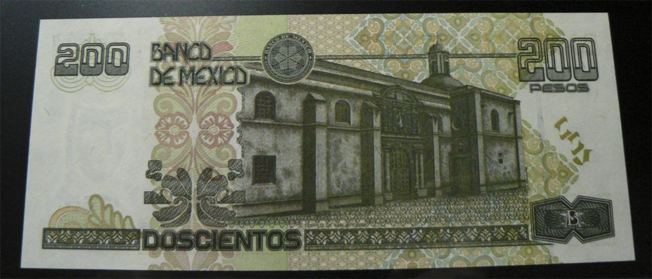 200 Pesos México, 1995  Mx109ar