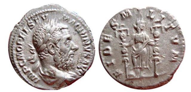 Denario de Macrino. FIDES MILITVM. Roma 0_0_0_macrino