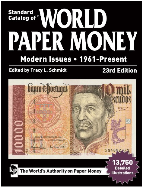 2018 Standard Catalog of World Paper Money Modern Issues 1961-Present 095100-1490806373